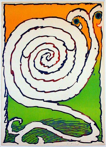 Alechinsky labyrinths for Alechinsky oeuvres