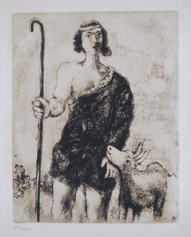 Chagall Bible Etchings