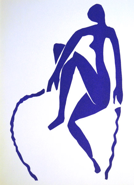 About matisse blue nude series