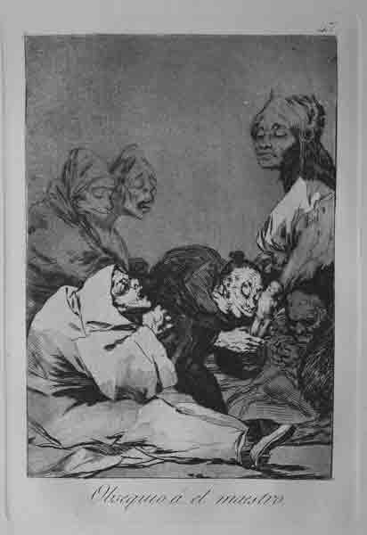 goya essay los caprichos Los caprichos (les caprices, terme qui signifie « fantaisie ») est une série de 80 gravures du peintre espagnol francisco de goya, consistant en une satire de la.