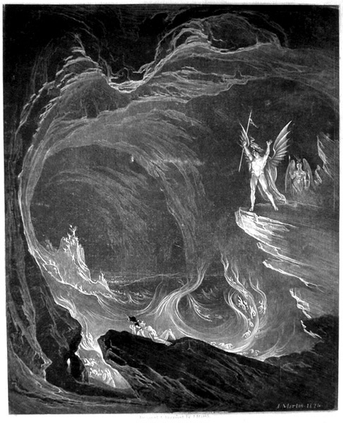 the fall of satan in john miltons paradise lost Paradise lost john milton  this regression of motives shows quite a fall satan also regresses or degenerates physically  though satan is not heroic in.