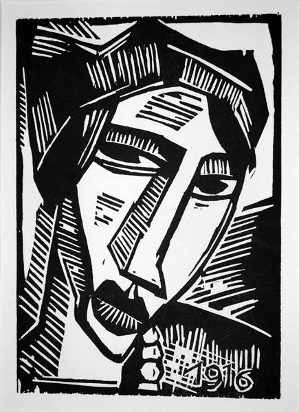 """[转载]""""德国表现主义版画和绘画肖像和自画像"""""""